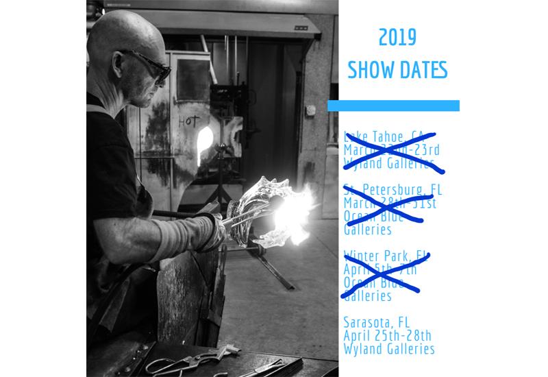 David Wight 2019 Show Schedule