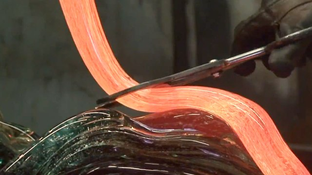 Making the Neptune - David Wight Glass Art